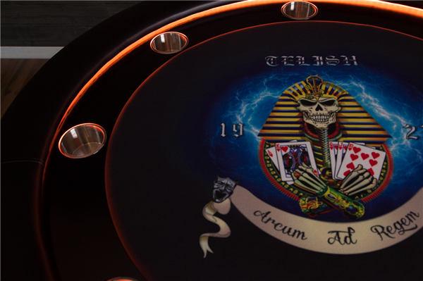 poker table custom graphics