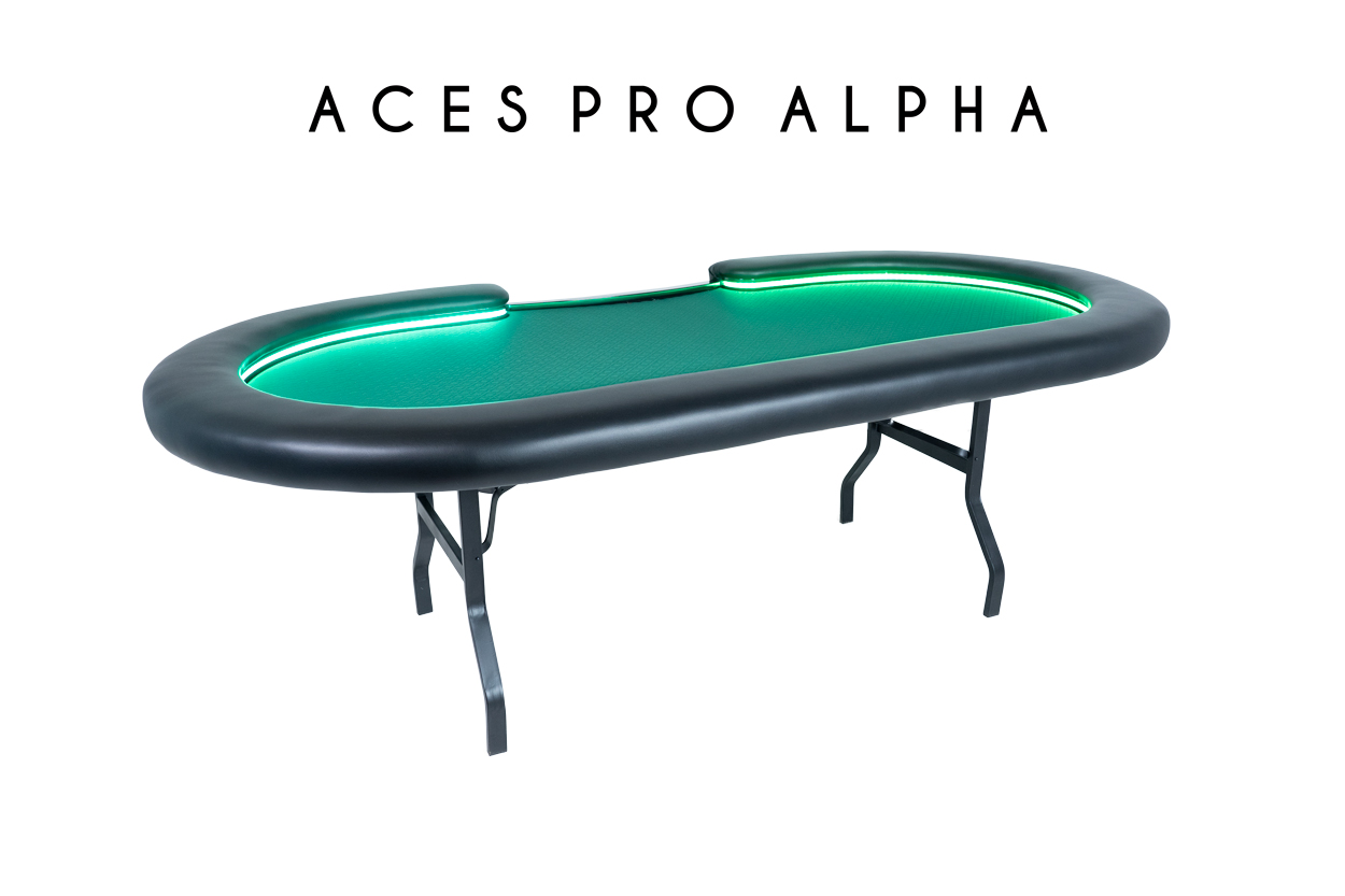 Aces Pro Alpha Poker Table