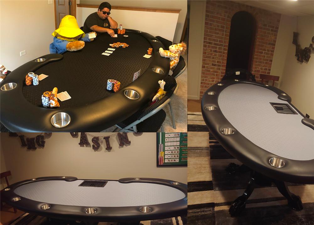 Prestige Folding Leg Poker Table Thunmbnail