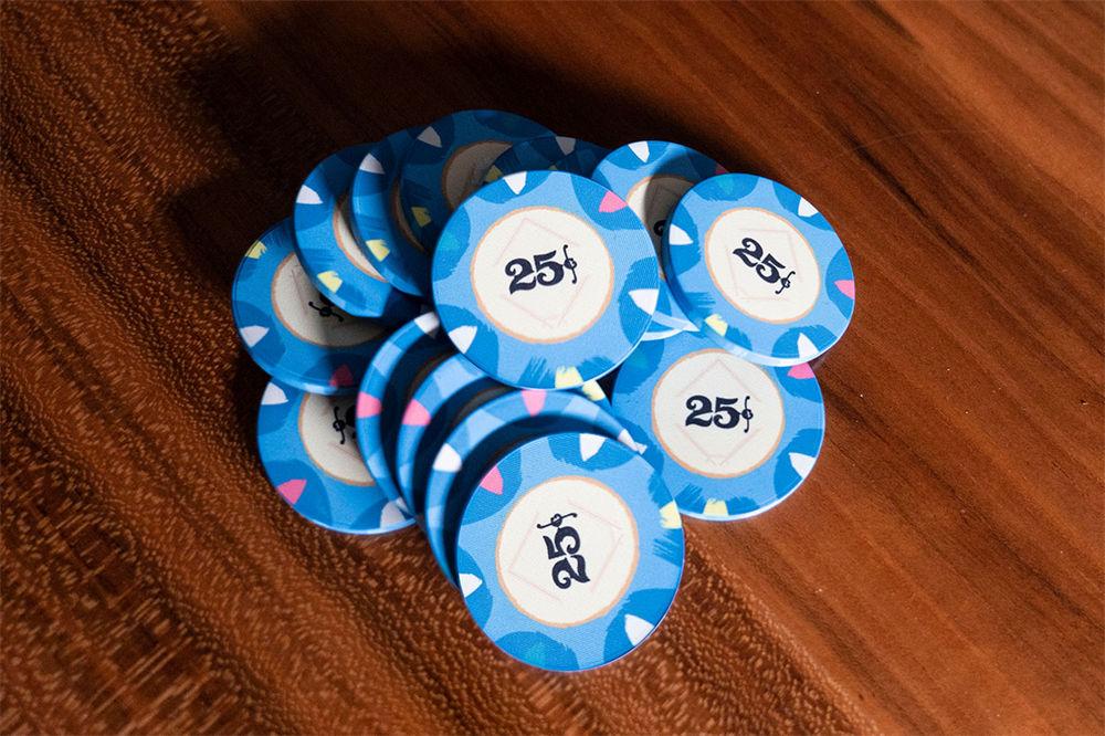 Classic Casino Poker Chips (9)