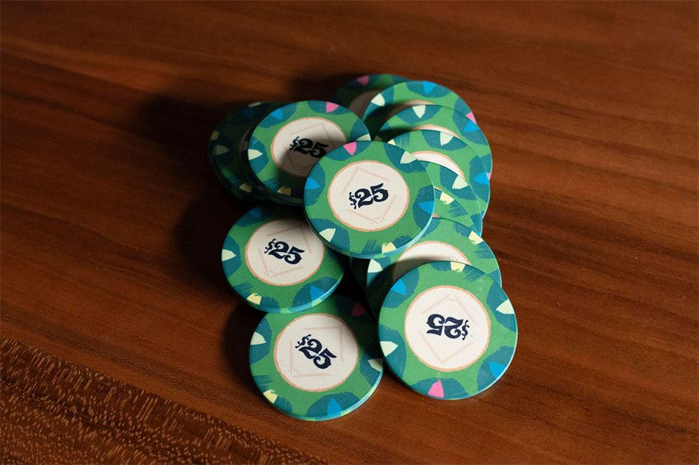 Classic Casino Poker Chips (10)