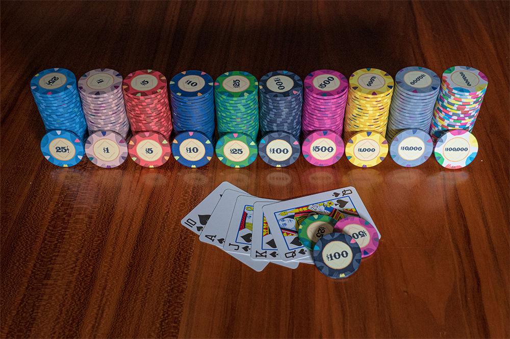 Classic Casino Poker Chips