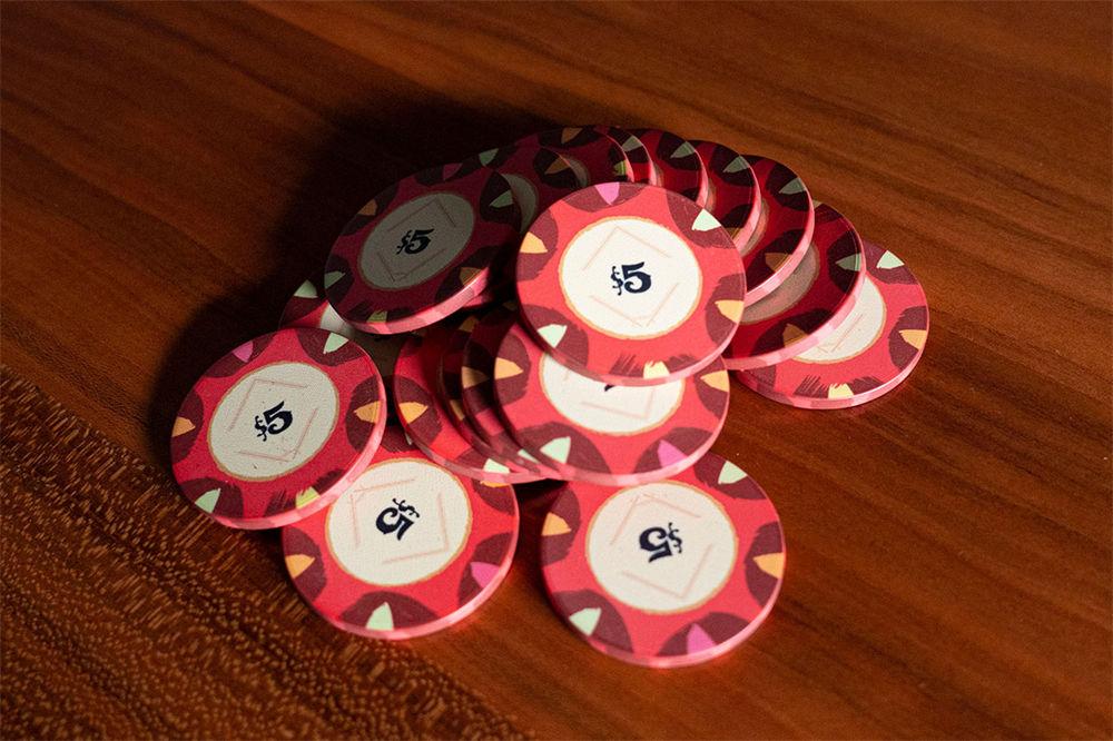 Classic Casino Poker Chips (6)