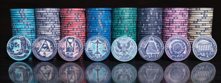 casino chips customized