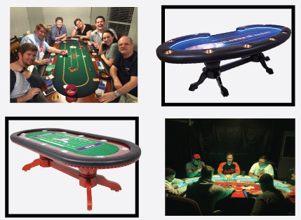play custom poker table with your friends