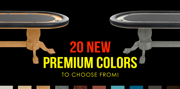 20 new premium colors to choose from!