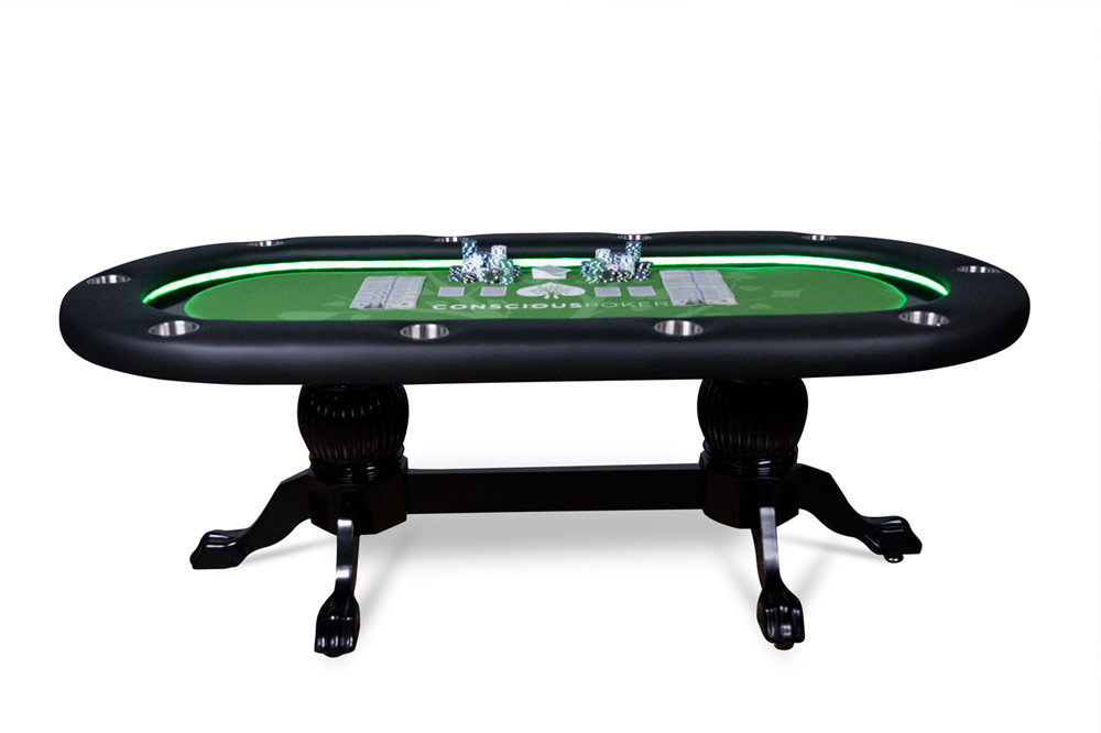 Conscious Poker Table By Alec Torelli