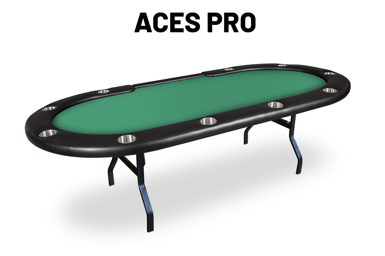 Aces Pro Tournament Poker Table
