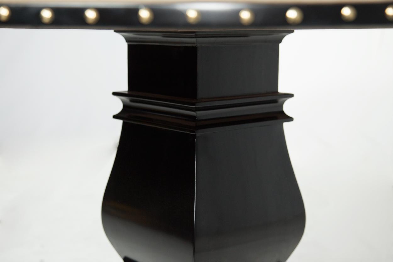 """""""Champagne Papi"""" iShowroom Custom Ginza LED Poker Game Table (6)"""