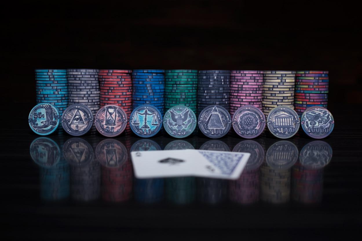 """The Mint"" 10g Ceramic Chip Set 500pc (1)"
