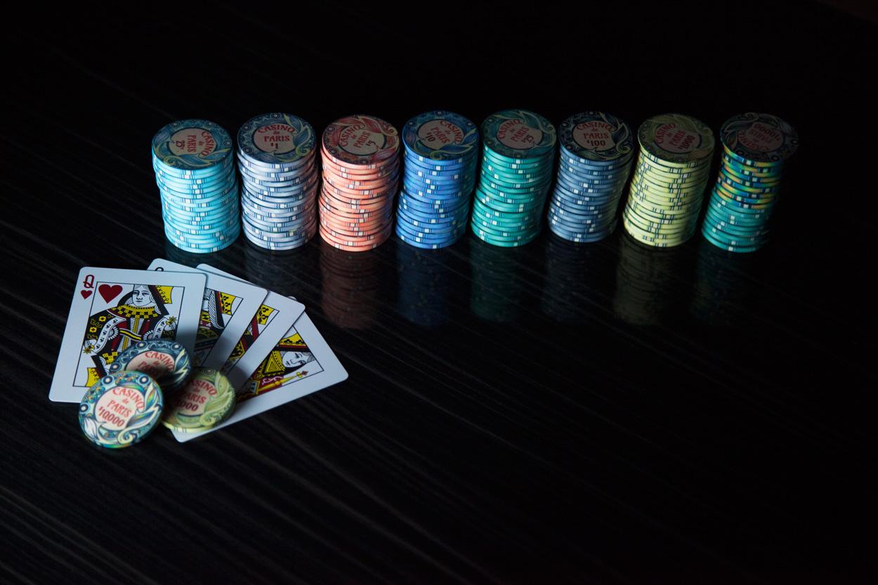 """Casino De Paris"" 10g Ceramic Chip Set 500pc (4)"