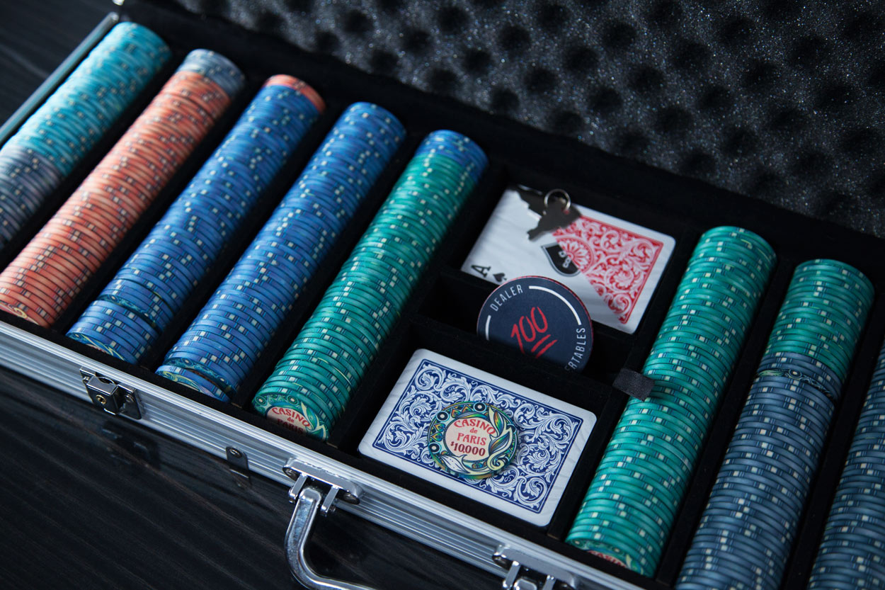 """Casino De Paris"" 10g Ceramic Chip Set 500pc (2)"