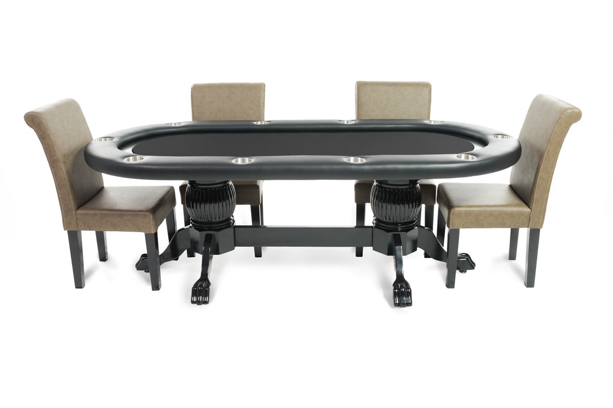 The Elite Poker Table with Black Racetrack thumbnail