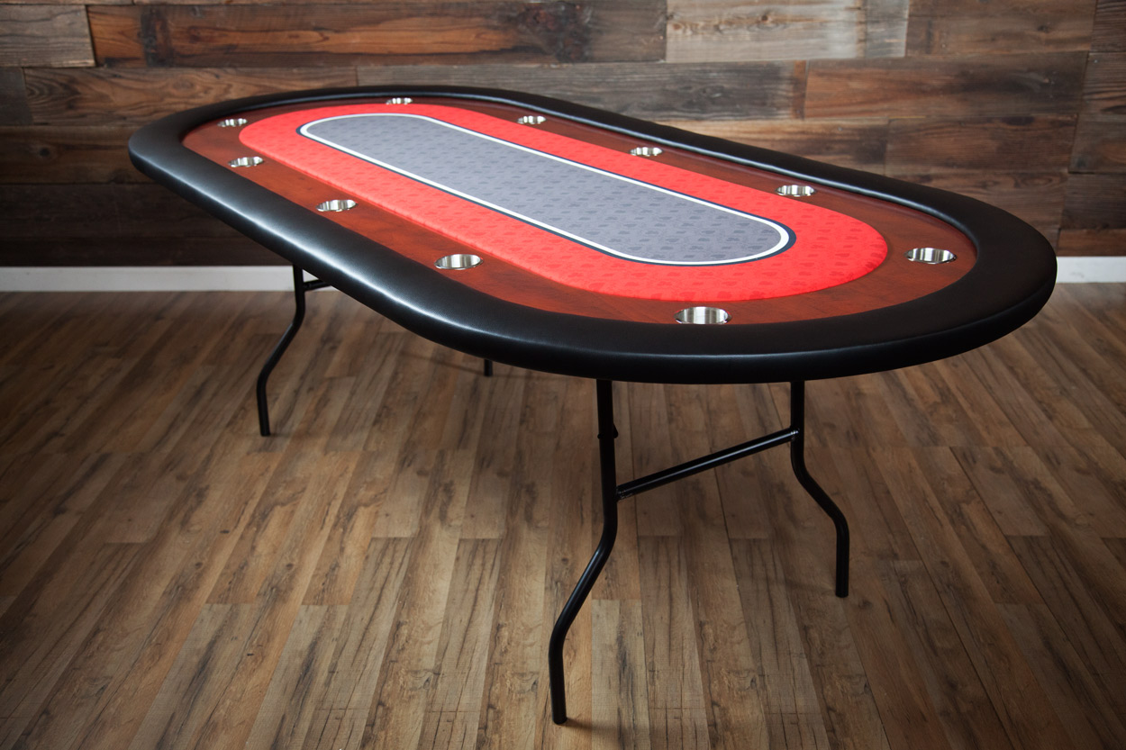 """Big Red"" iShowroom Custom Ultimate Poker Table  (1)"
