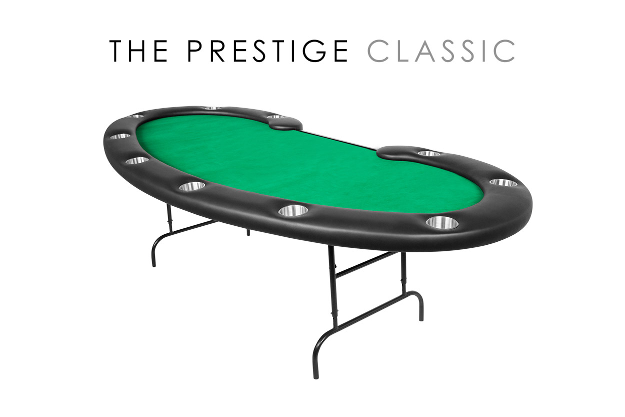 Prestige Folding Leg Poker Table