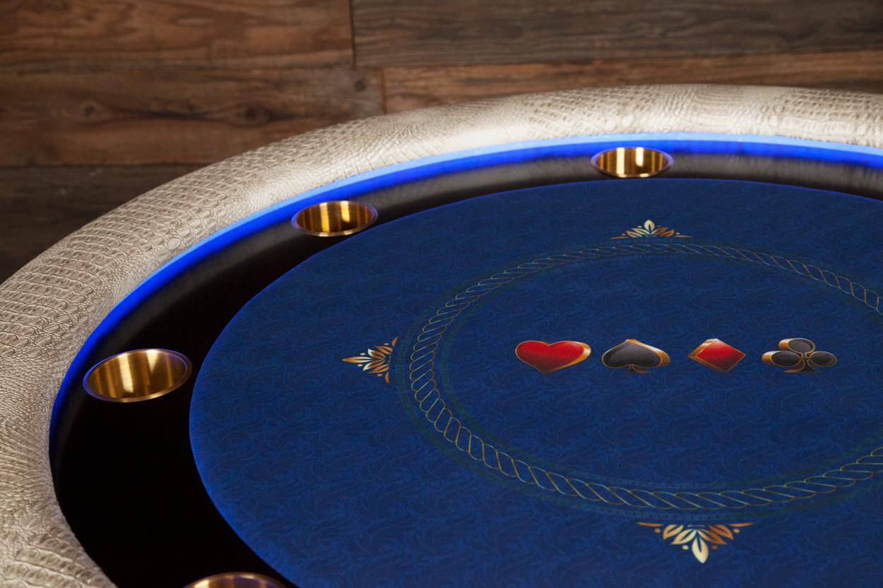 """Chips Ahoy!"" iShowroom Custom Ginza LED Poker Game Table (3)"