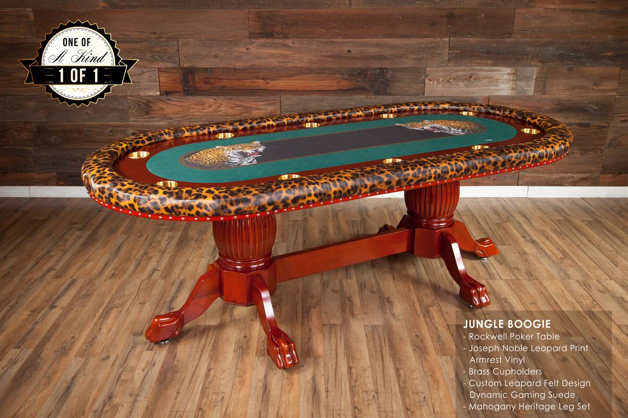 iShowroom Custom Rockwell Poker Game Table
