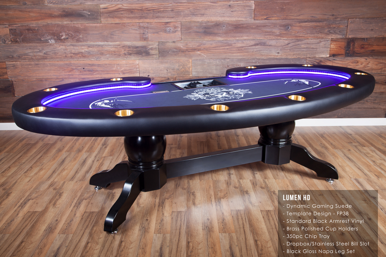 The Lumen HD Poker Table Thunmbnail