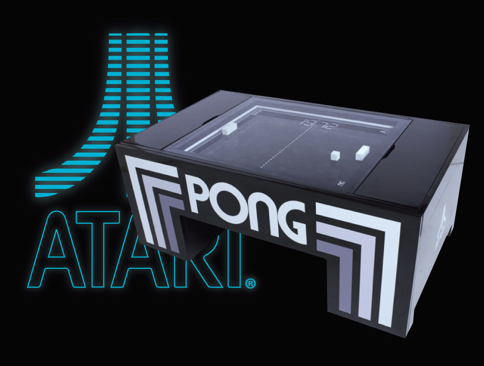 3D Atari Pong Coffee Table