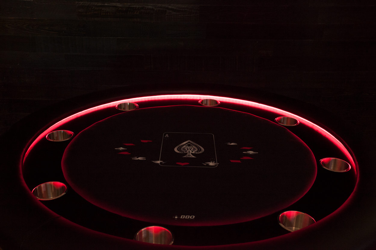 The Ginza LED Poker Table Thunmbnail