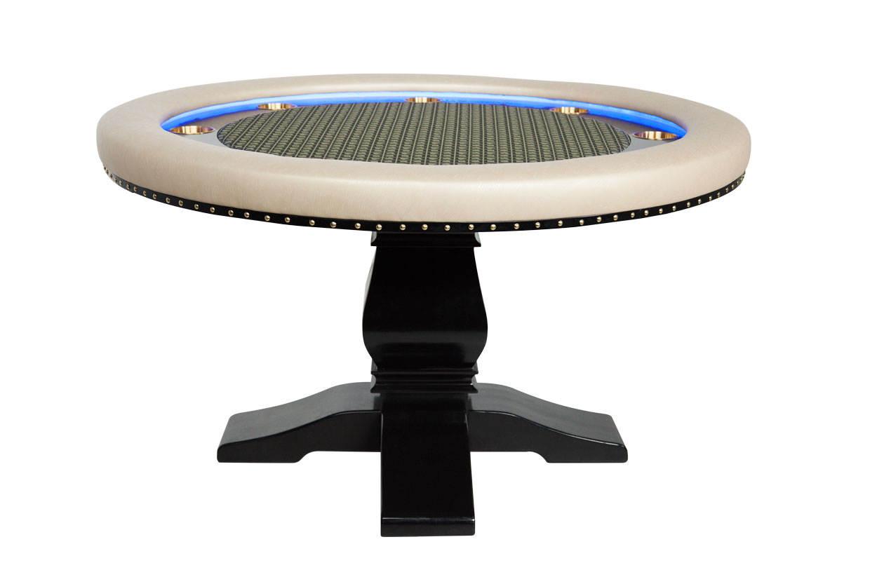 """""""Champagne Papi"""" iShowroom Custom Ginza LED Poker Game Table"""