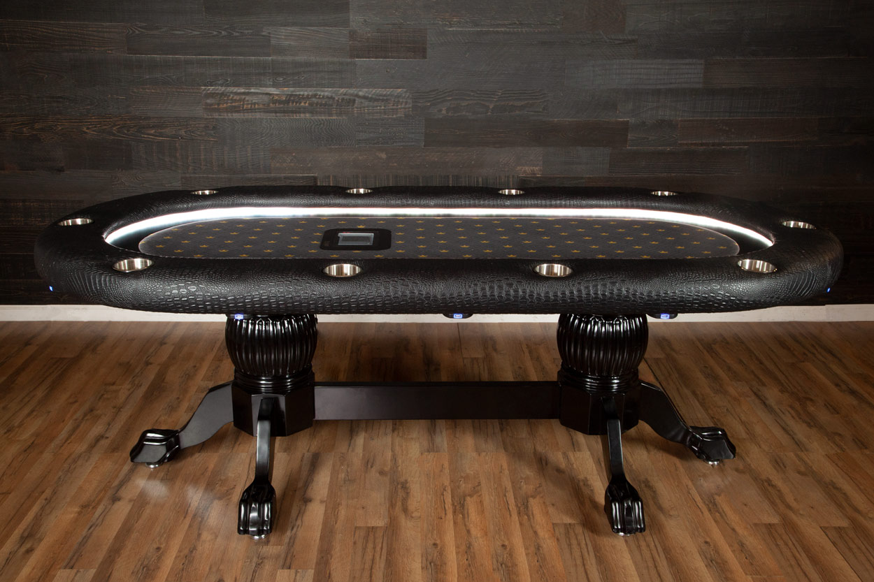 The Elite Alpha Poker Table - The King's Court (1)