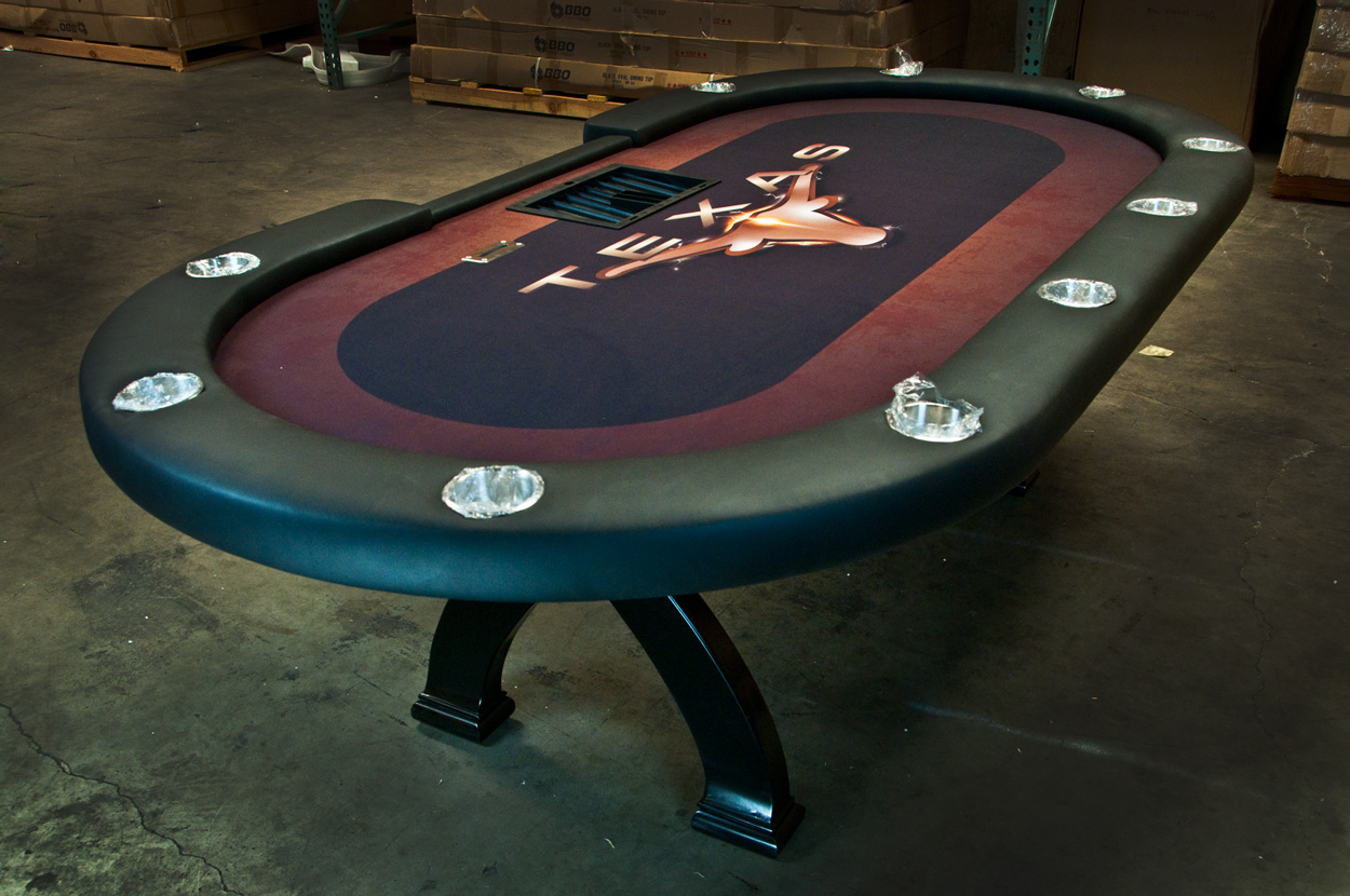 BLEMISHED Casino X2 Poker Table (2)