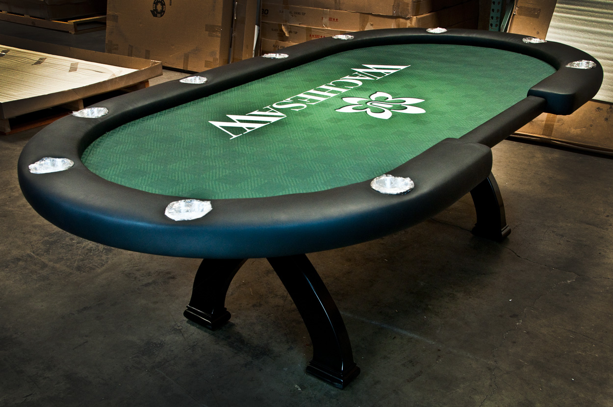 BLEMISHED Casino X2 Poker Table (1)