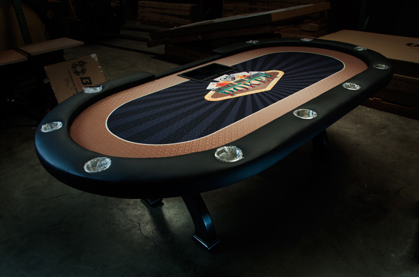 BLEMISHED Casino X2 Poker Table