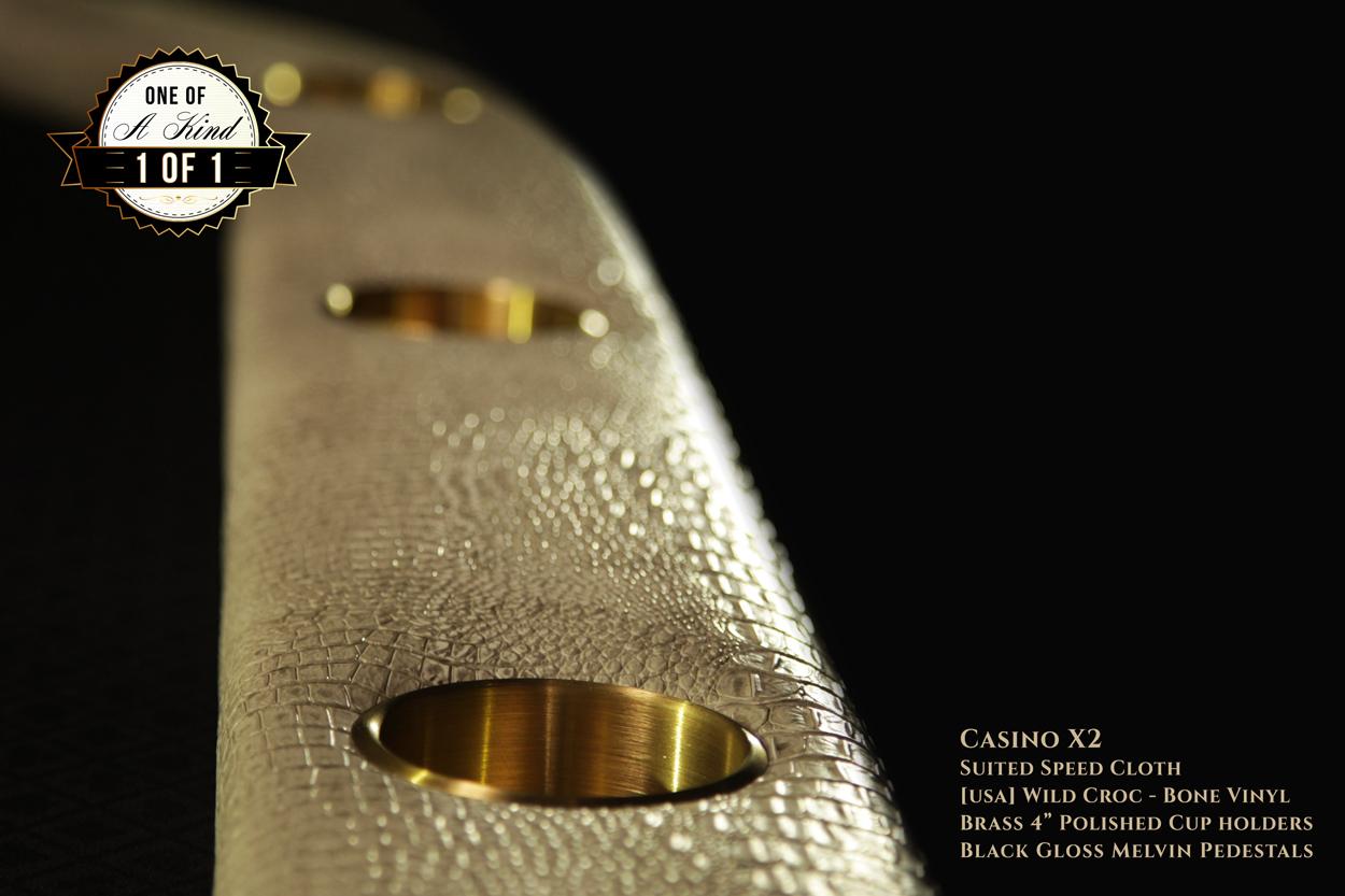 iShowroom Custom Casino X2 Poker Table (2)