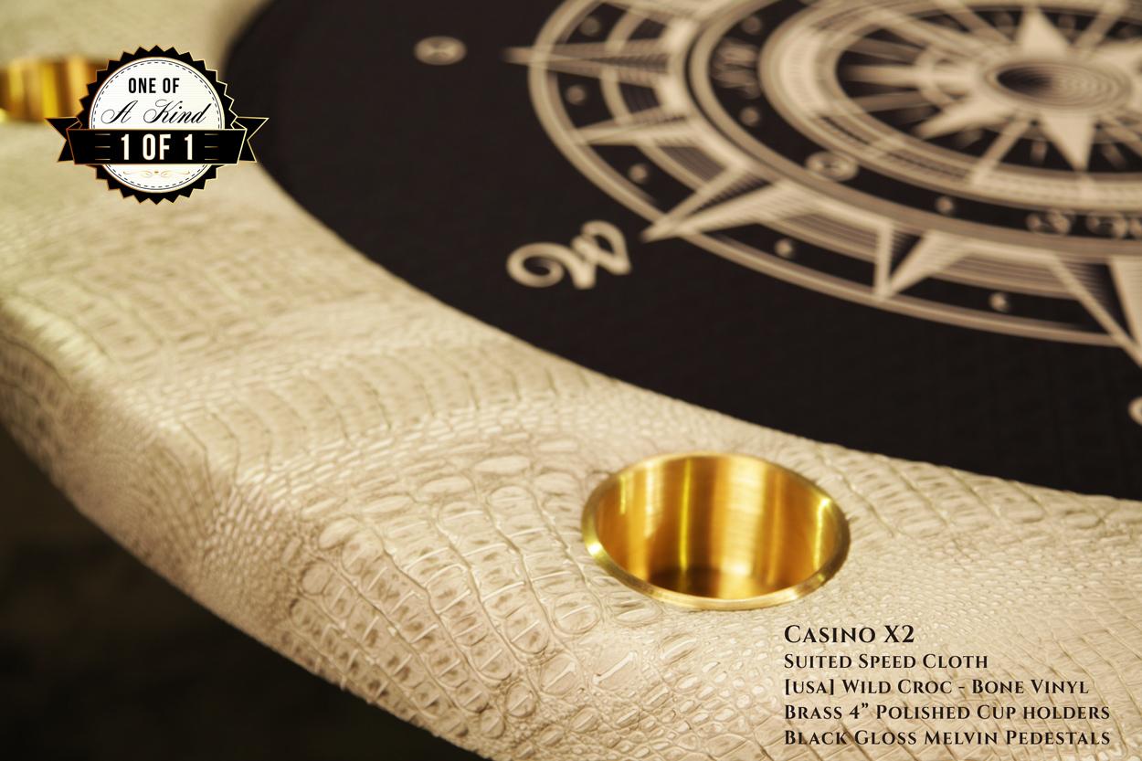 iShowroom Custom Casino X2 Poker Table (3)