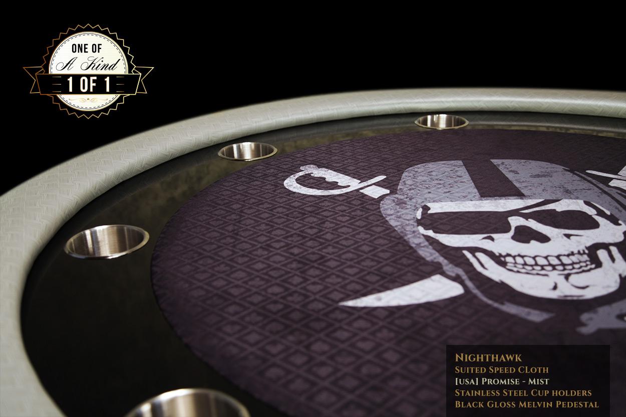 iShowroom Custom Mist Nighthawk Poker Table (3)