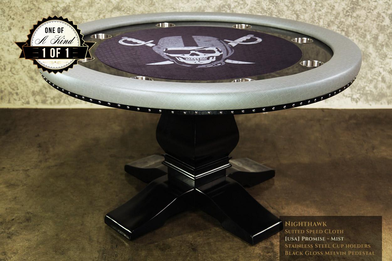 iShowroom Custom Mist Nighthawk Poker Table (2)