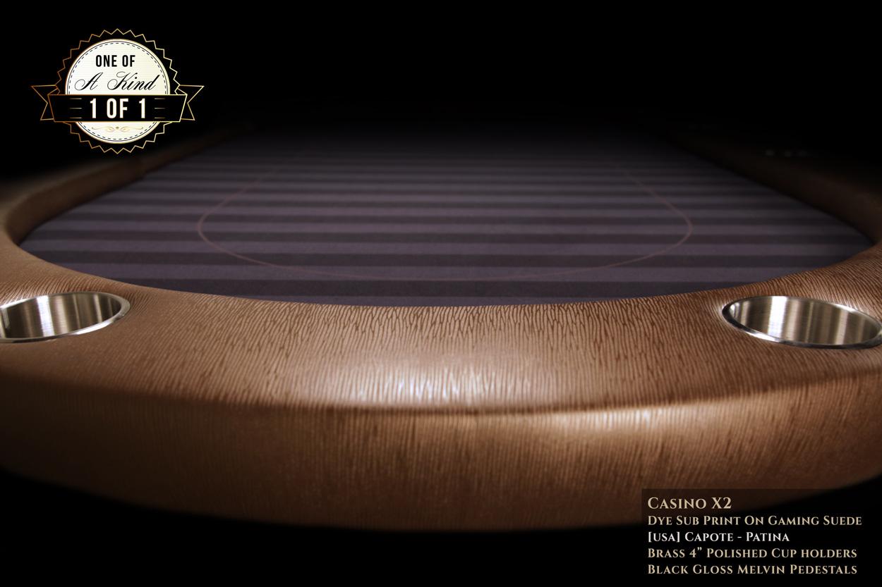 iShowroom Custom Capote Casino X2 Poker Table  (1)