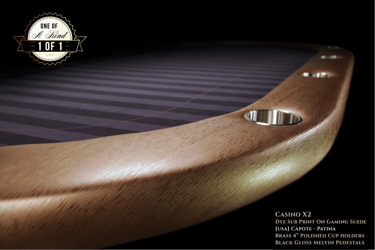 iShowroom Custom Capote Casino X2 Poker Table  (2)