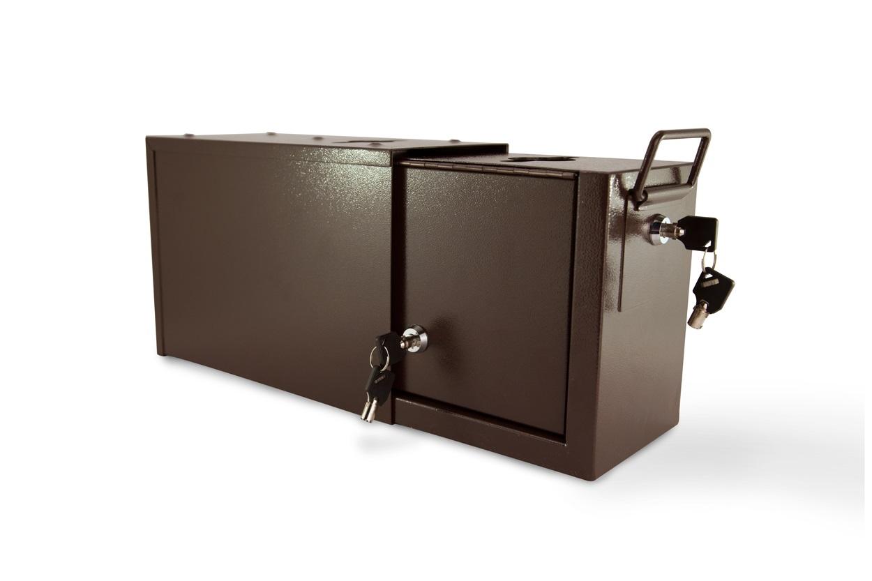 Jumbo Metal Casino Drop Box w/ Side Lock (1)