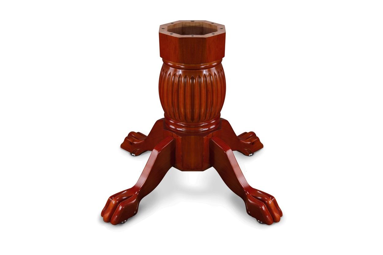 Duke Pedestal Leg Set- Mahogany