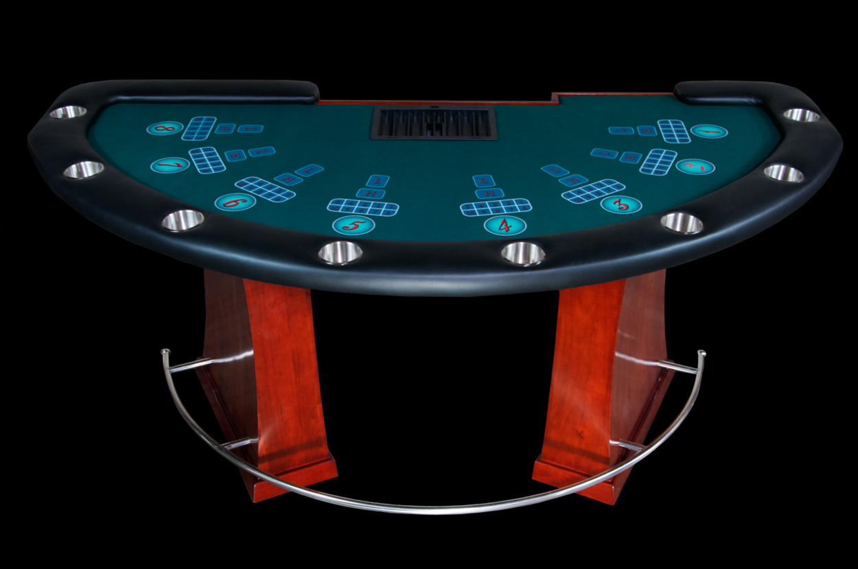 Casino Grade Gaming Table for Various Games (0)