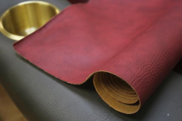 Red Camo Poker Table Armrest Vinyl