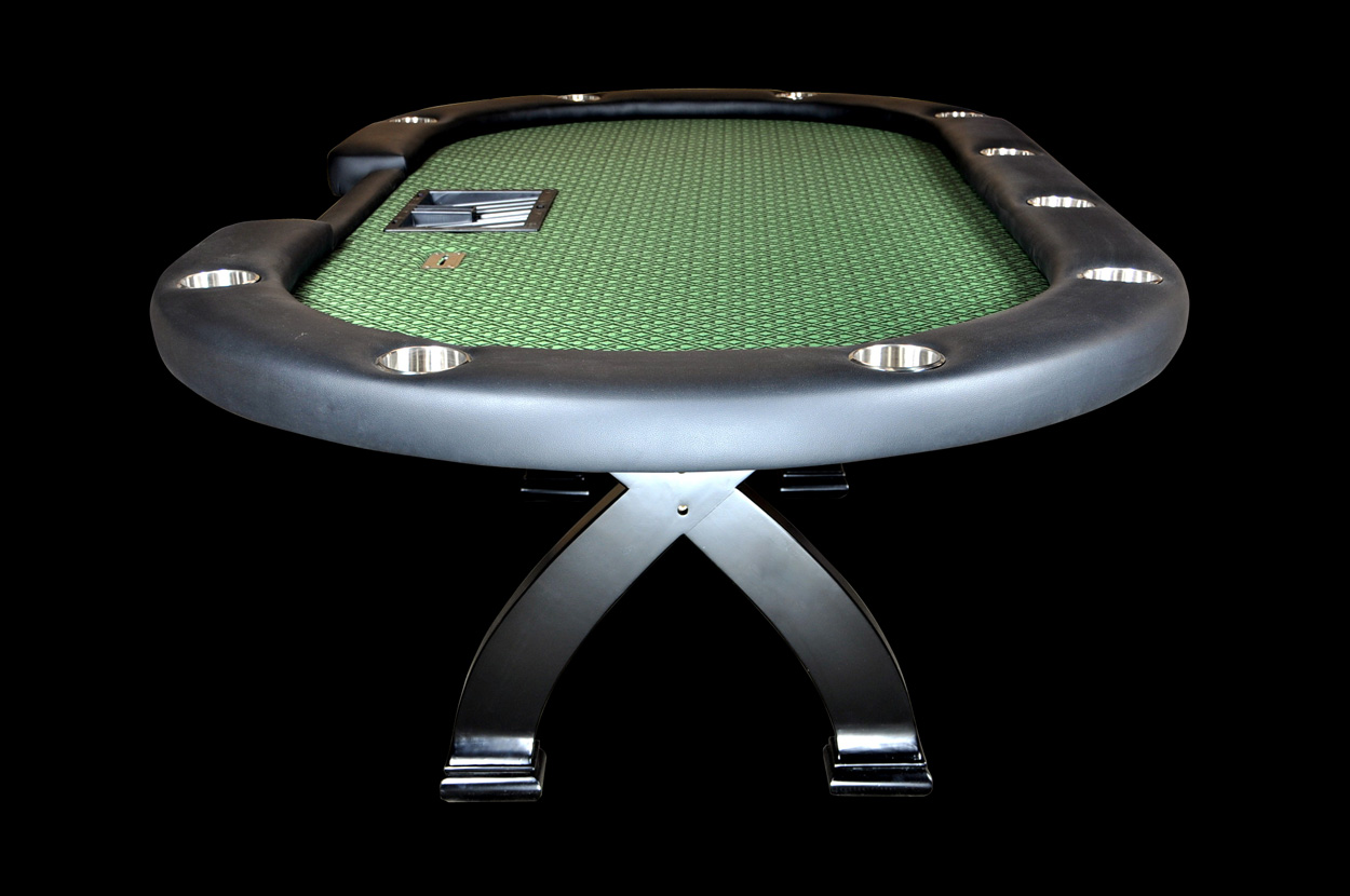 BLEMISHED Casino X2 Poker Table (4)