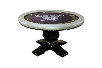 iShowroom Custom Mist Nighthawk Poker Table