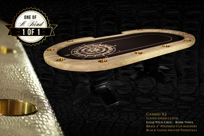 iShowroom Custom Casino X2 Poker Table