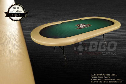 iShowroom Custom Aces Pro Poker Table