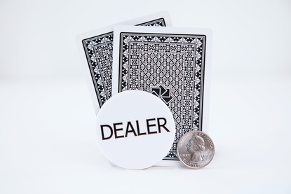 Standard 2in Dealer Button
