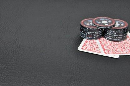 Premium Poker Table Armrest Vinyl - Black - 9ft Sheet