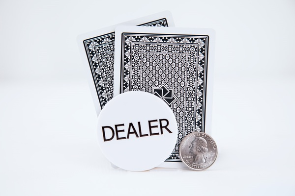 Standard 2in Dealer Button