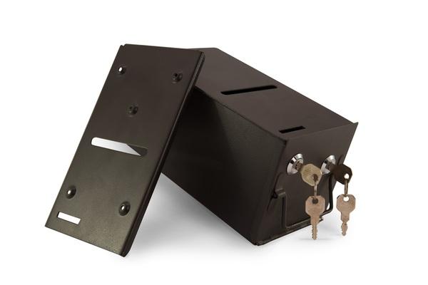 Regular Metal Drop Box - include stainless steel drop slot