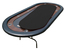 Ultimate Poker Table Replacement Playing Surface - Black