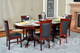 Classic Poker Table Chairs - Mahogany ()