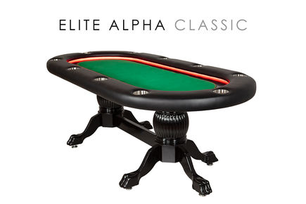 Elite Alpha (LED)  Poker Table